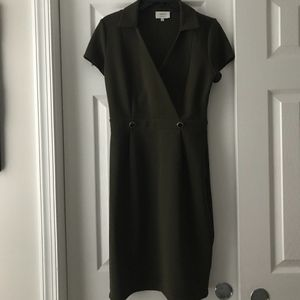 Olive Green Dress - Size M